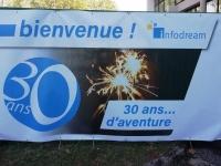 INFODREAM : une entreprise fête ses 30 ans de manière originale