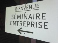 séminaire d'entreprise, lieu d'échanges