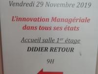 L'innovation managériale à l'IAE Grenoble